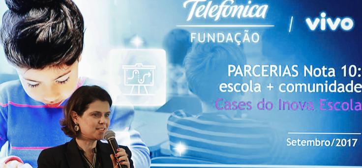 Mila Gonçalves, gerente de projetos da Fundação Telefônica Vivo