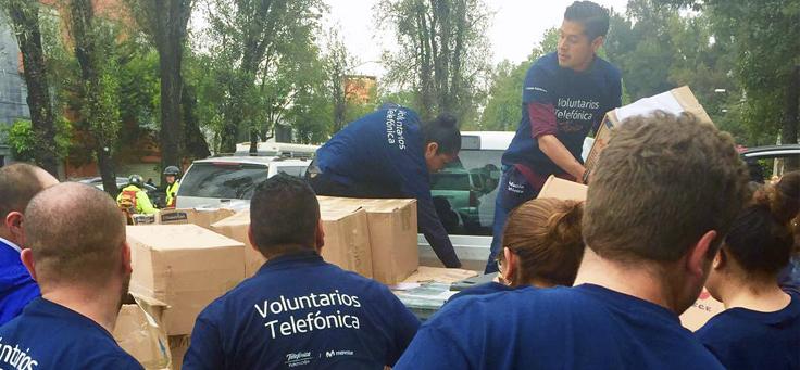 Terremoto no México: Fundação Telefônica ajuda vítimas