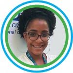 """Foto 6_Tamires - Tamires de Jesus, 17, também participou de um dos painéis do evento, como representante da Escola Estadual Norma Ribeiro (BA). Ela resume a experiência como """"um dia de grande conhecimento""""."""