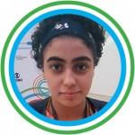 """Foto 8_Nicole - A palavra diversidade representou o Educação 360 Jovem na visão de Nicole Souza Caggiano, 14, estudante da EMEF Desembargador Amorim Lima (SP), uma das escolas do Inova Escola. """"Estar aqui num evento completamente pensado por nós, com a possibilidade de representar os jovens de todo o Brasil e ainda fazer novos amigos é uma oportunidade única""""."""