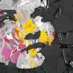 Imagem que ilustra matéria sobre suicídio de crianças e adolescentes mostra tela artística com pintura de rosto desconfigurado