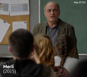 Cena mostra Merlí, um professor nada convencional de filosofia