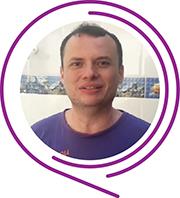 Rosto de Daniel Carvalho, durante o Dia dos Voluntários