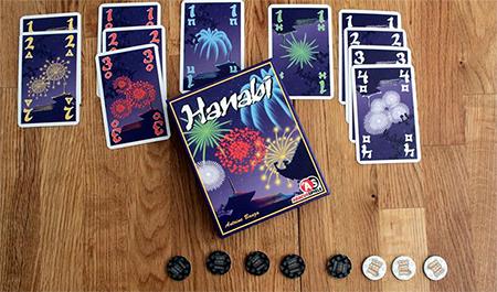 Imagem do jogo Hanabi
