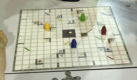 Imagem do jogo Ricochet Robots