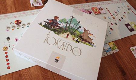 Imagem do jogo Tokaido