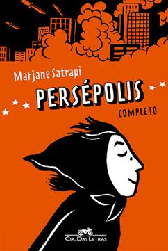 Persépolis é um dos quadrinhos que podem ser usados para debater temas da sociedade em sala de aula. Na capa, a jovem Marjane está usando um lenço na cabeça, com os olhos fechados sentindo o vento no rosto. Acima dela, mísseis estão destruindo prédios.