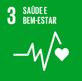 O ODS 3 é sobre Saúde e Bem-Estar.