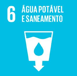O ODS 6 é sobre Água Potável e Saneamento.