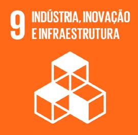 O ODS 9 é sobre Indústria, Inovação e Infraestrutura.