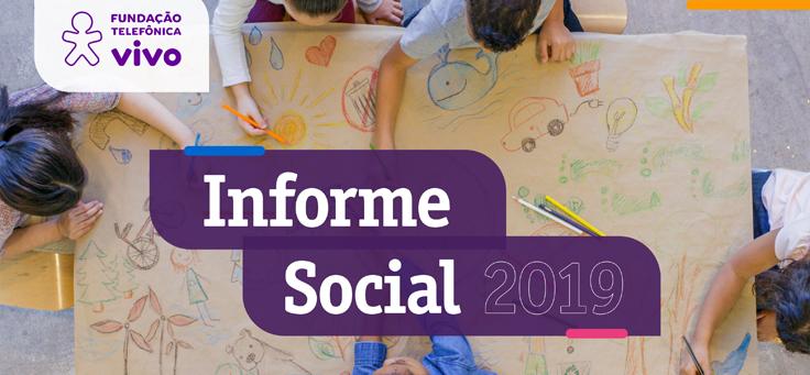 Capa do Informe Social 2019
