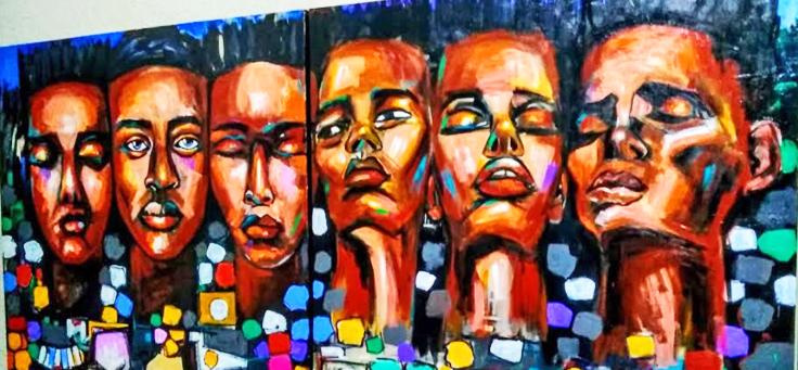 Foto da obra do artista plástico Lavi Israël