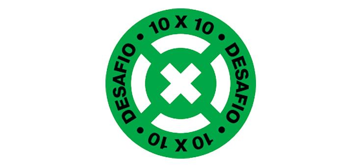 Logo do Desafio 10 x 10