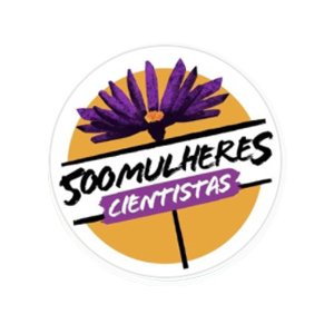 Logotipo do projeto 500 Mulheres Cientistas