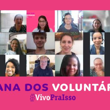 Semana dos Voluntários chega a mais de 47 mil pessoas em todo Brasil