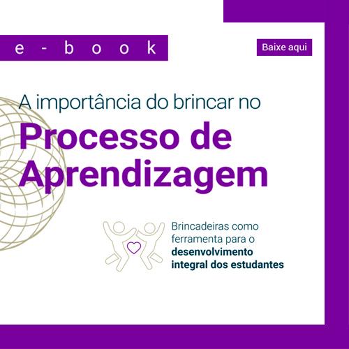 E-book mostra brincadeiras como ferramentas de aprendizagem; baixe agora!