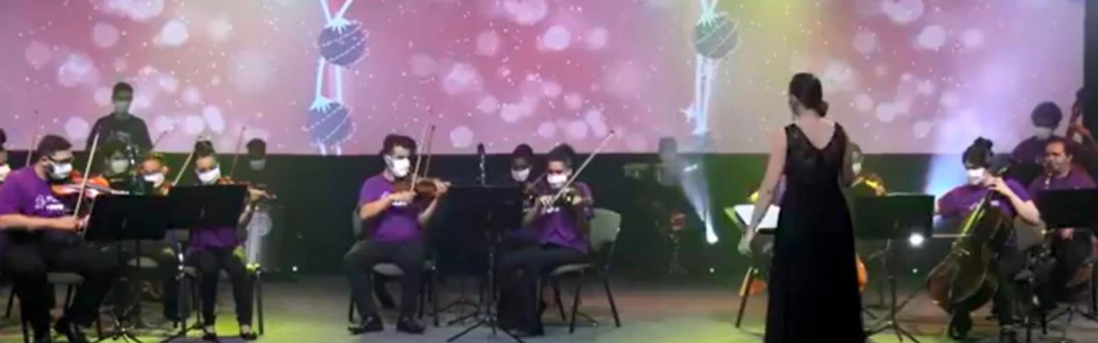 Informe Social da Fundação Telefônica Vivo: Cantata de Natal