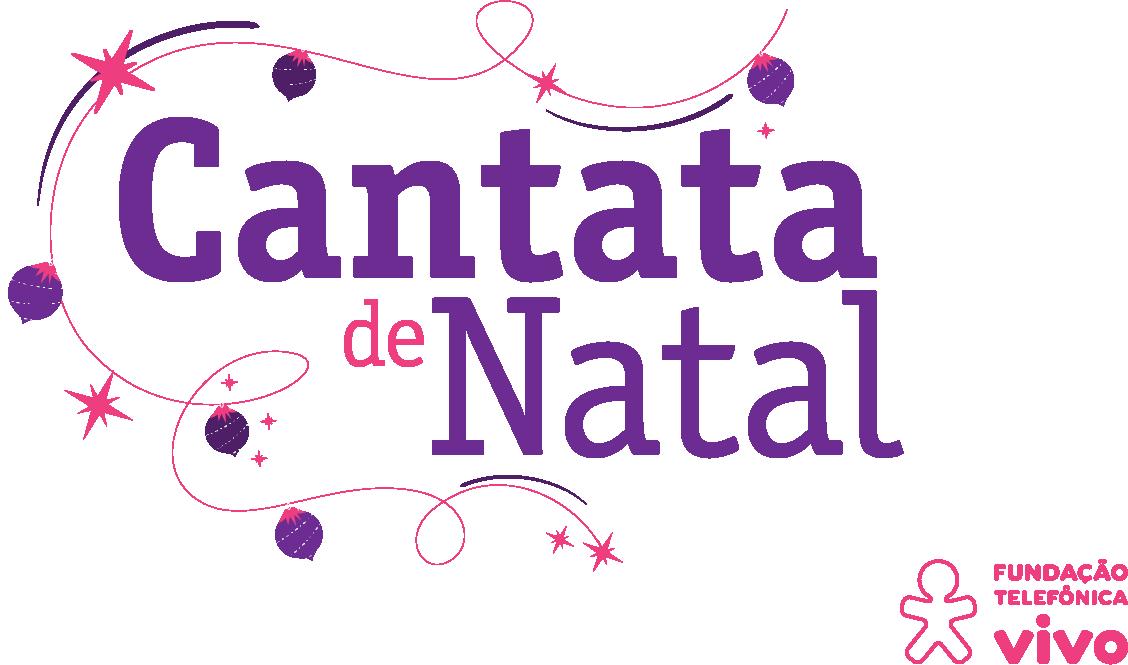 Logo Cantata de Natal Fundação Telefônica Vivo