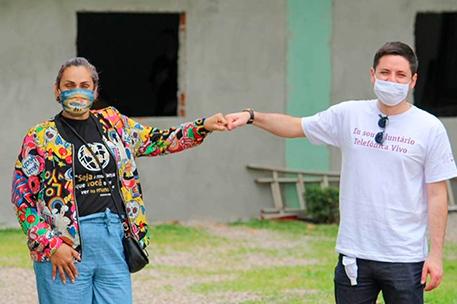 Informe Social da Fundação Telefônica Vivo: Voluntariado