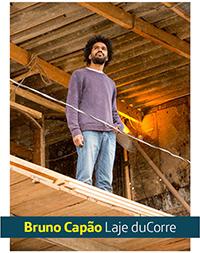 Imagem mostra o empreendedor Bruno Capão