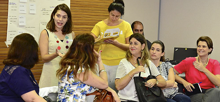 Encontro de educadores do programa Inova Escola