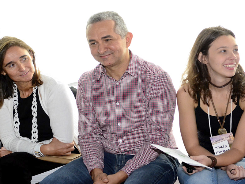 Odair Barros, gerente de planejamento financeiro da Fundação Telefônica Vivo