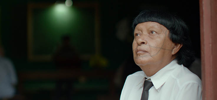 Perpera, que perdeu o título de pajé na tribo Paiter Surui