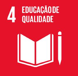 O ODS 4 é sobre Educação de Qualidade.