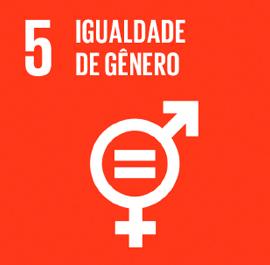 O ODS 5 é sobre Igualdade de Gênero.