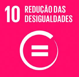 O ODS 10 é sobre Redução das Desigualdades.