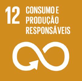 O ODS 12 é sobre Consumo e Produção Responsáveis.
