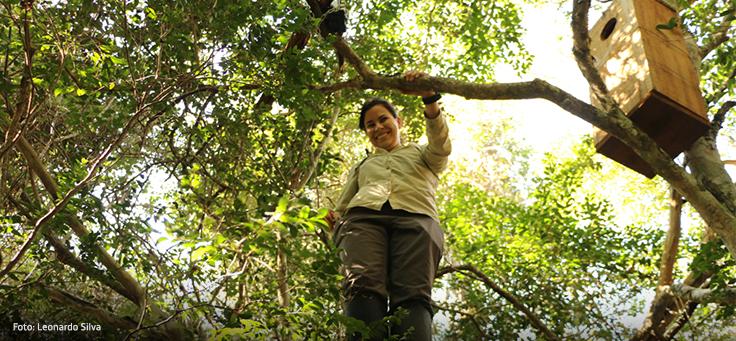 Imagem da biólogo Gabriela Rezende
