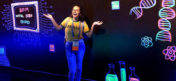 Ciência e Ensino Médio é um dos temas de matérias que destacam o protagonismo dos estudantes.