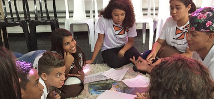 Grêmio estudantil é um dos temas de matérias que destacam o protagonismo dos estudantes.
