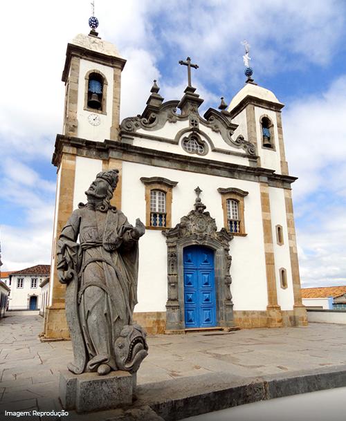 Imagem do Santuário de Bom Jesus de Matosinhos