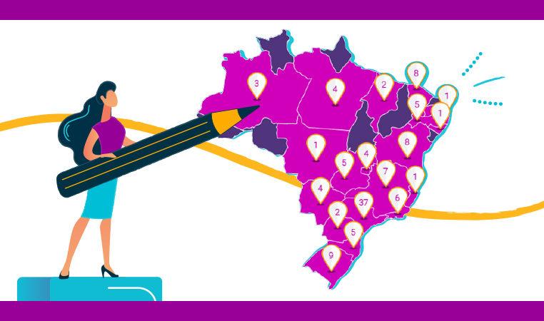 Projetos e escolas inovadoras são reunidos em mapa interativo