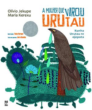 A Mulher que Virou Urutau é uma das obras que faz referência à literatura indígena. A capa traz a ilustração de um Urutau, pássaro marrom e longilíneo, em meio a elementos da floresta como flores e mato.