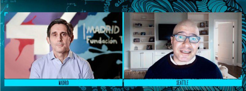 Hadi Partovi, CEO da Code.org, dá boas-vindas a José María Álvarez-Pallete como embaixador da organização