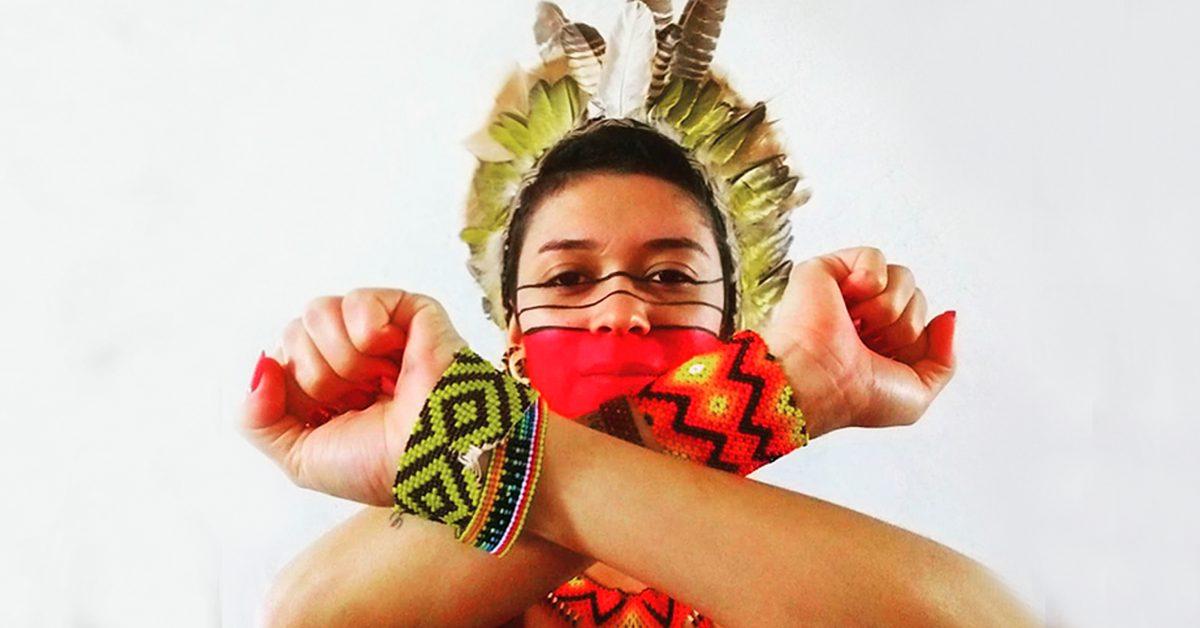 foto da jovem ativista Artemisa Xakriabá