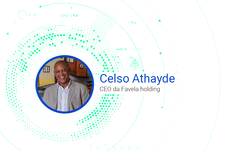 Celso Athayde CEO da Favela holding